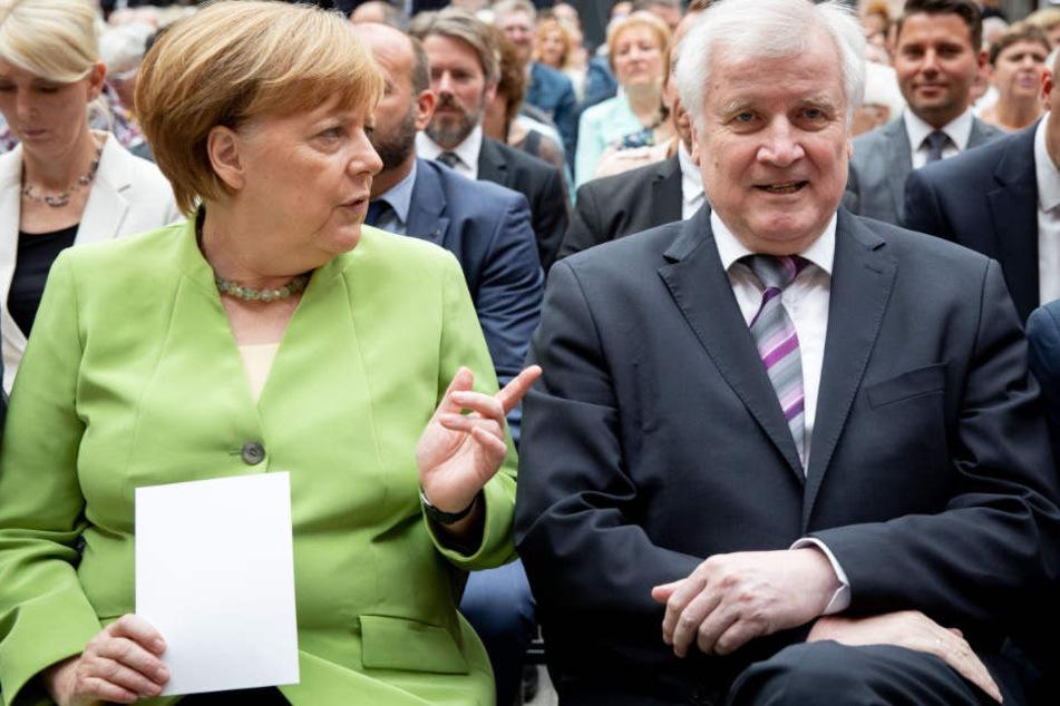 Horst Seehofer (r.) hat selbst im eigenen Lager mit Kritik zu kämpfen.
