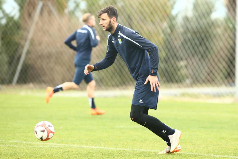 Dejan Bozic feierte am Dienstag seinen 26. Geburtstag.