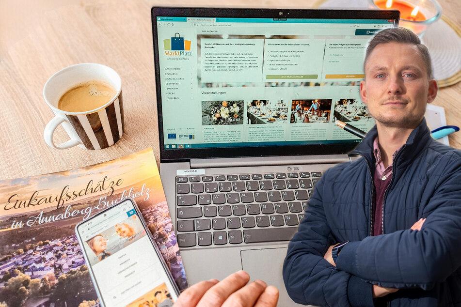 Annaberger Unternehmen sind jetzt online: Virtuelle Marktplatz startet