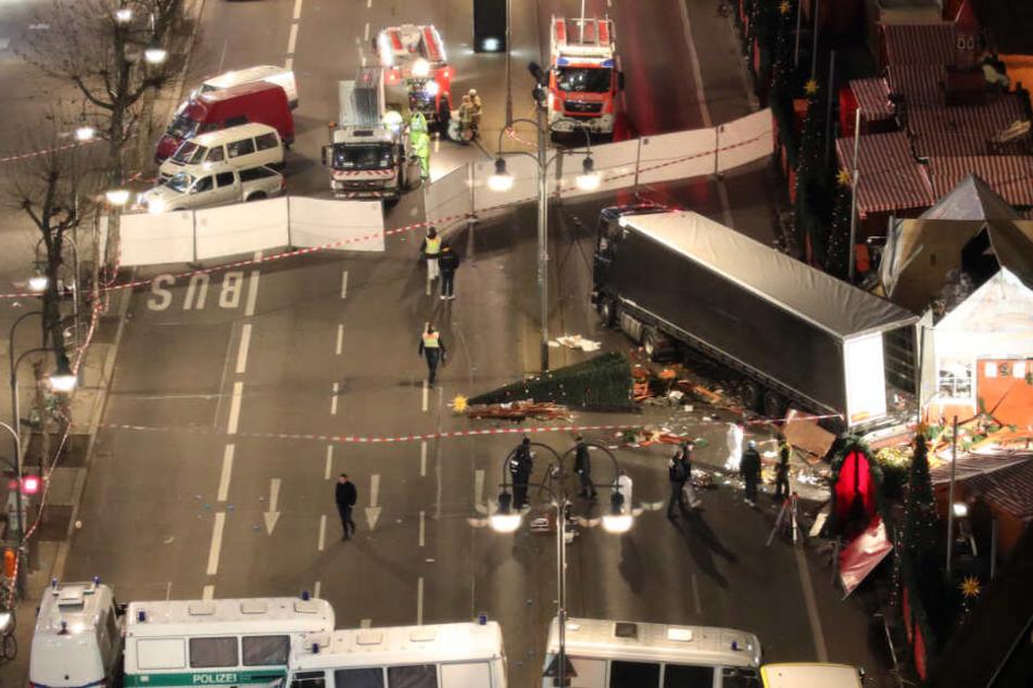 Im Dezember 2016 richtete der Attentäter Amri auf dem Weihnachtsmarkt am Berliner Breitscheidplatz ein Blutbad an. (Archivbild)
