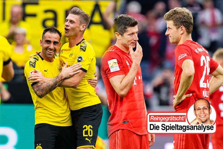 Bundesliga-Analyse: Mit dem BVB ist zu rechnen, FC Bayern muss sich steigern!