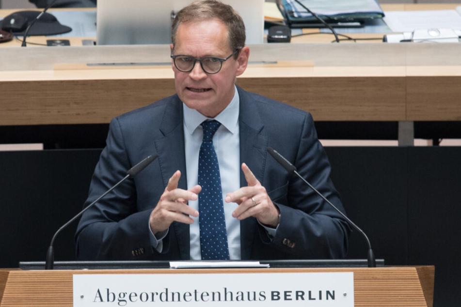 Michael Müller sieht seine Partei in einer schlimmen Situation.