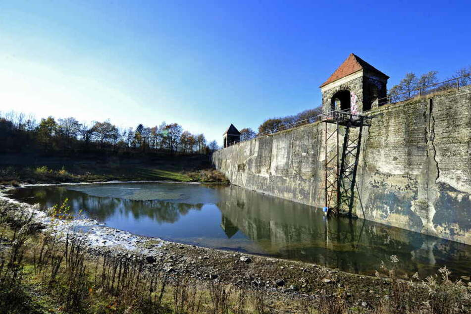 Die Talsperre Euba schläft den Dornröschenschlaf. Jetzt wartet sie auf ihre Sanierung. Packt Chemnitz das 5-Millionen-Projekt an?