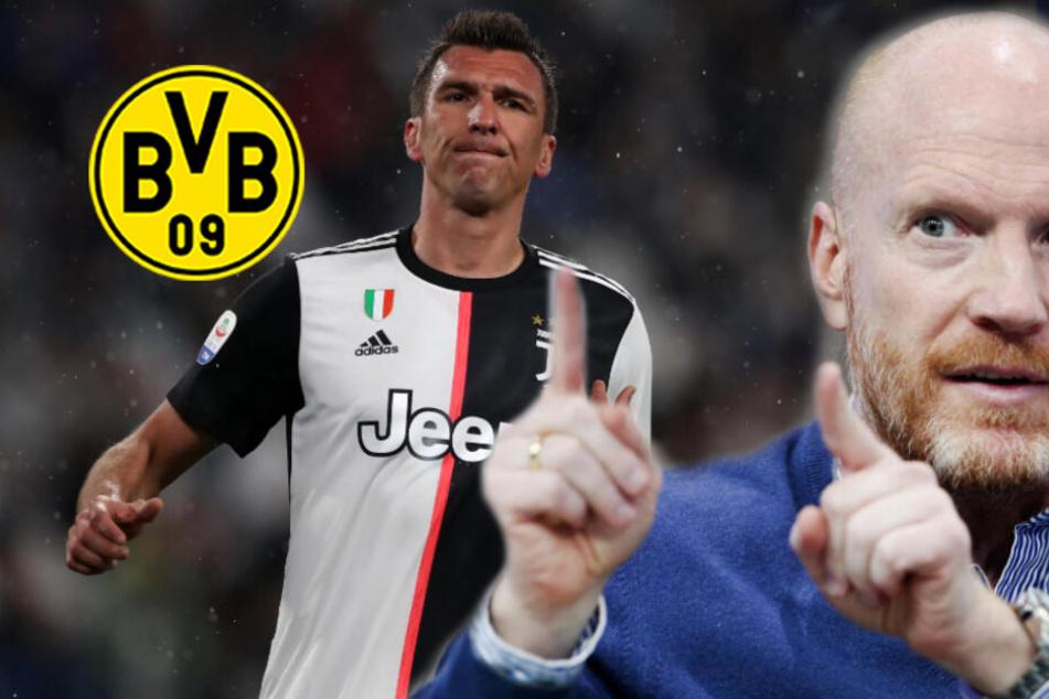 Unzufriedener Mandzukic zum BVB? Sammer plädiert für Winter-Transfer!