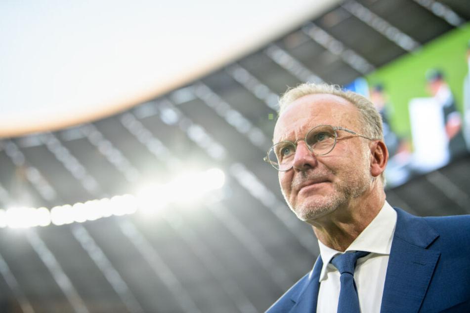 Karl-Heinz Rummenigge wollte das größte Stadion Deutschlands.