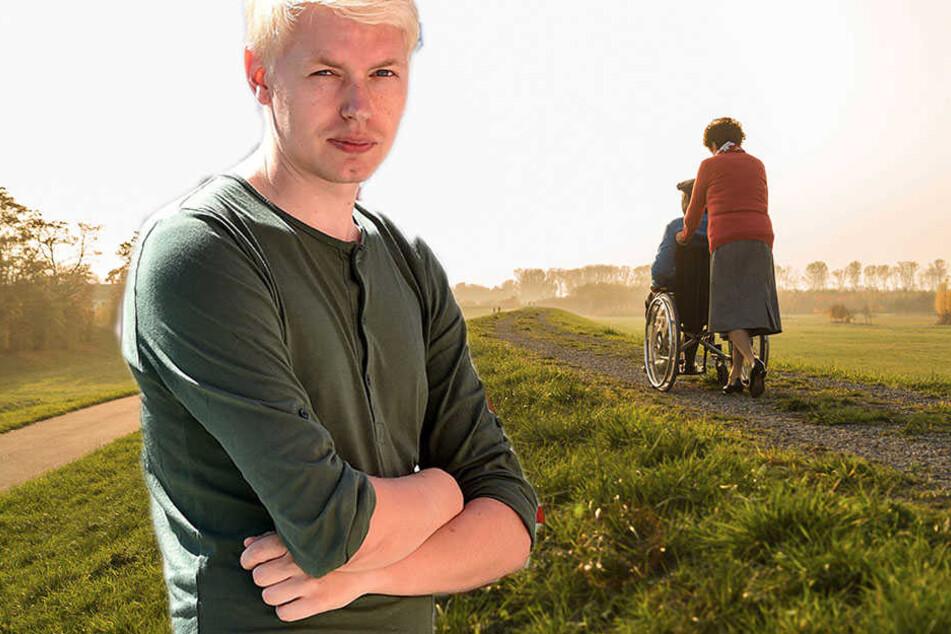 TAG24-Redakteur Dominik Brüggemann fordert mehr Anerkennung für Pfleger.