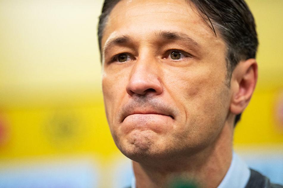 Bayerns Trainer Niko Kovac musste den nächsten Rückschlag wegstecken.