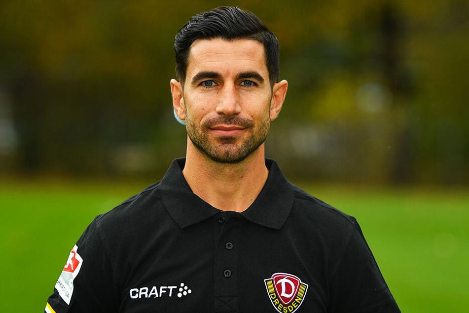 Ex-Dynamo-Co-Trainer Ovid Hajou schaut noch immer jedes Dresdner Spiel.