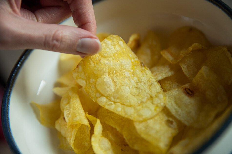 Potato chips are full of fat and additives.