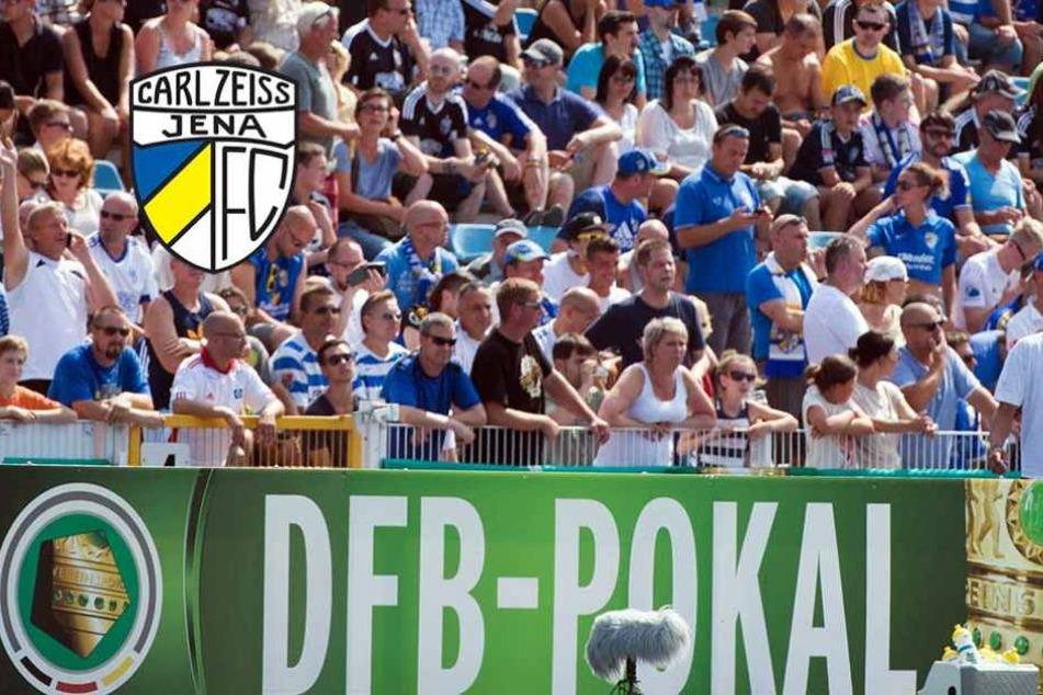 Jena empfängt im DFB-Pokal Union Berlin