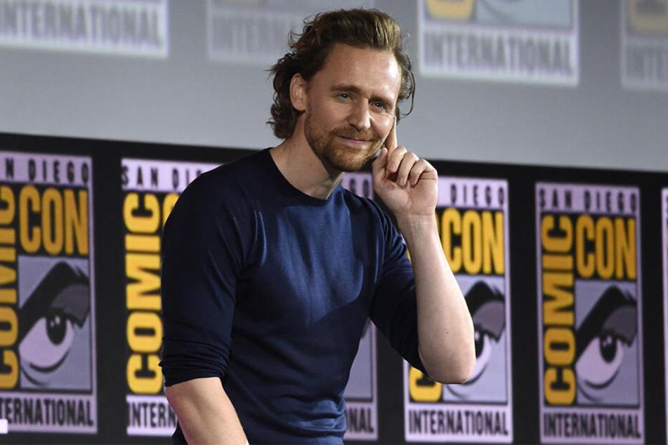 So einen Fan hat nicht jeder Marvel-Star. Ob Tom Hiddleston (38) sich darüber freut?
