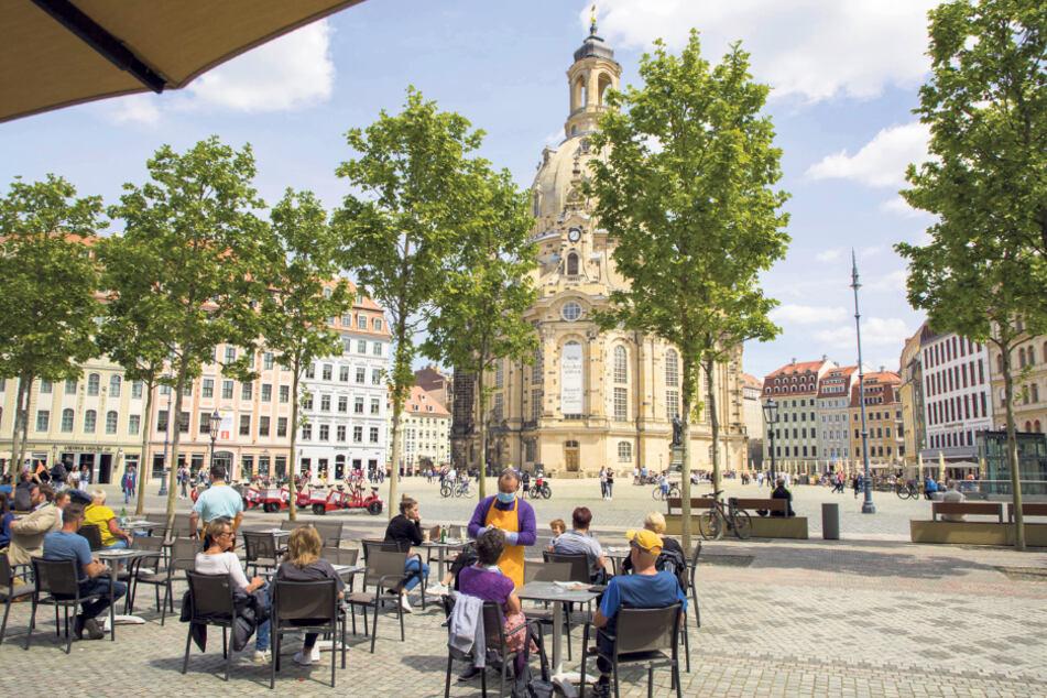 Hotels, Kneipen, Sehenswürdigkeiten: Der Neumarkt erwacht wieder zum Leben