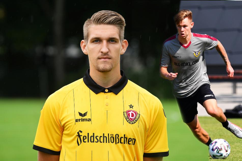 Robert Andrich (l.) kam für Dynamo Dresden von Februar 2015 bis Juli 2016 zu 25 Einsätzen (ein Tor, eine Vorlage). SGD-Neuzugang Julius Kade dürfte gegen seinen Ex-Verein, den 1. FC Union Berlin, besonders motiviert sein.