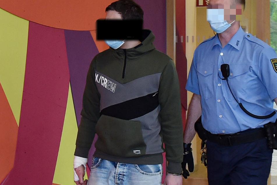 Andreas D. (36) holte sich im Amtsgericht das nächste Urteil ab.