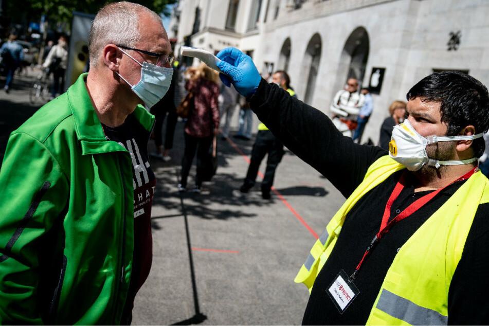 Coronavirus in Berlin: 6766 Infizierte, ein weiterer Todesfall