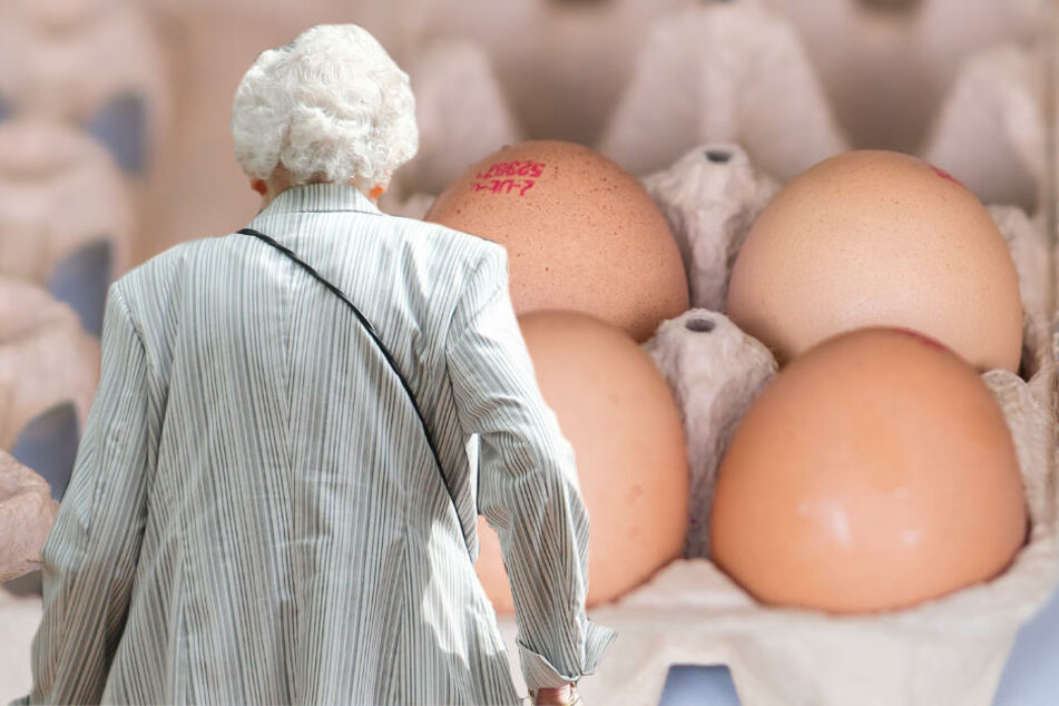 Die Rentnerin misstraute den Eiern, die sie eine Woche zuvor gekauft hatte (Symbolbild).