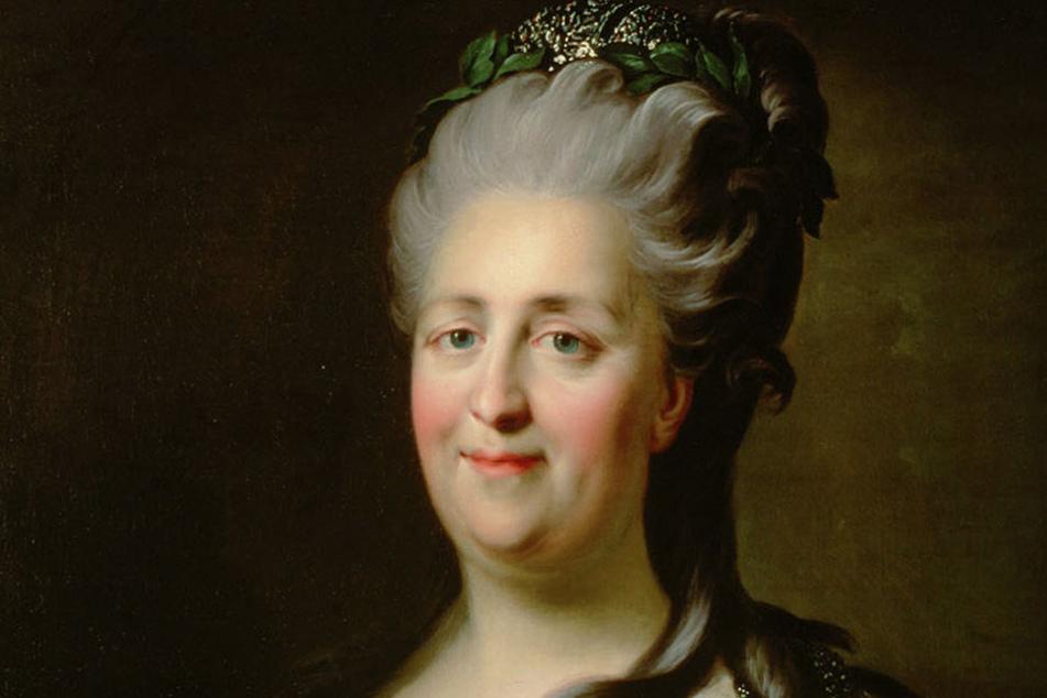 Ihre Wurzeln liegen in Freital: Zarin Katharina die Große (1729-1796).