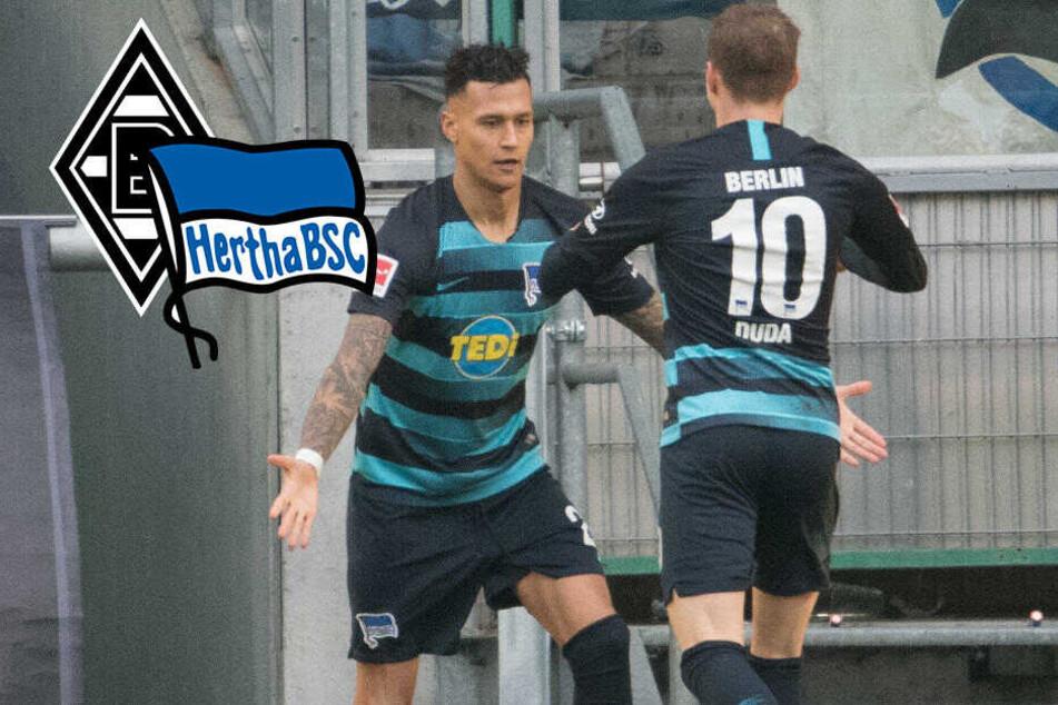 Gladbach-Fluch beendet: Starke Hertha schießt Heim-Primus ab