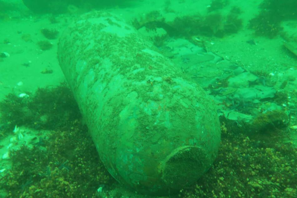 Der Boden der Ostsee ist noch voll mit zahlreichen Bomben aus den Weltkriegen.