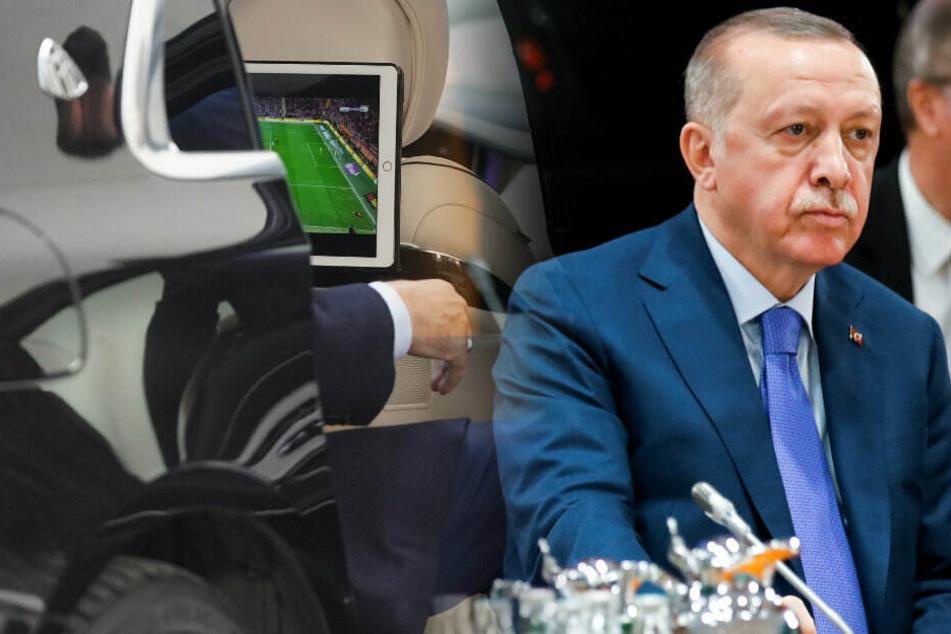 Libyen-Konferenz legt Berlin lahm: Hier schaut Erdogan vor Gipfel-Treffen noch Fußball