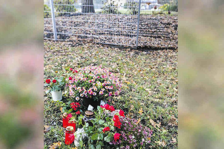 An dieser Stelle wurde Tanja S. am 15. September ermordet.