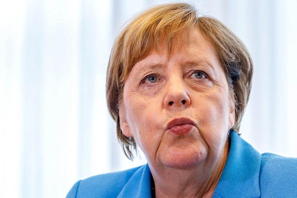So verlief der Tag mit Kanzlerin Merkel in Sachsen