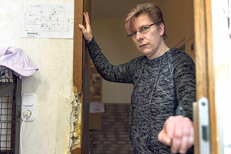 Ausgabestellen-Leiterin Petra Hütten (45).