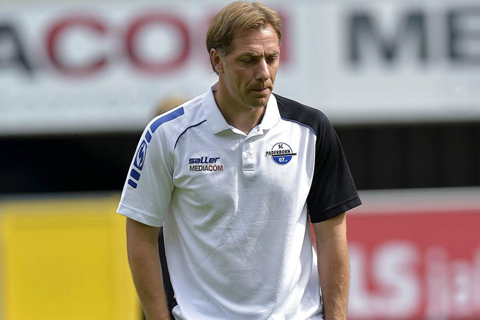René Müller muss den Rückschritt des Teams erst einmal verdauen.
