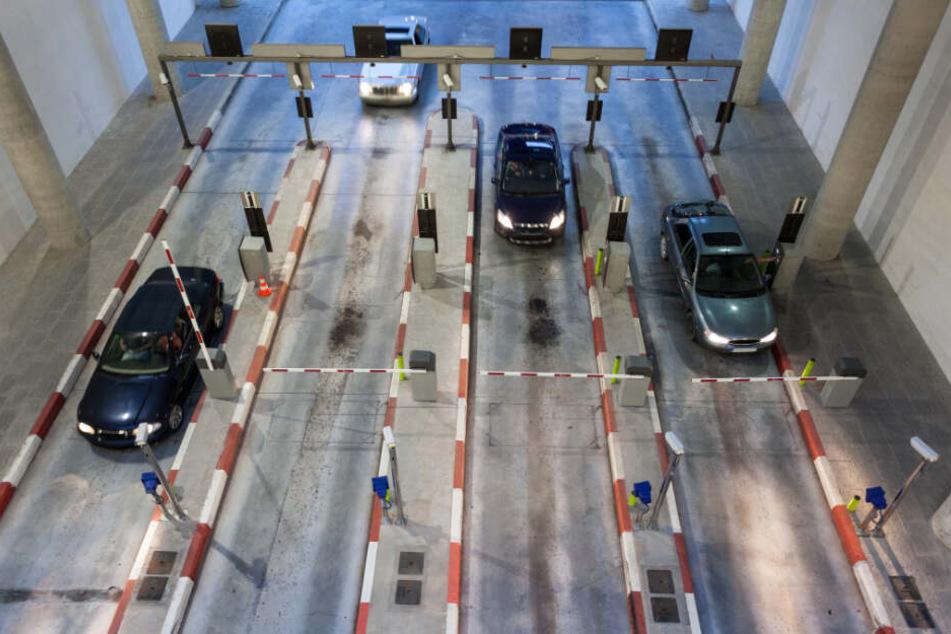 570 Euro für drei Minuten auf dem Parkplatz? Teures Vergnügen. (Symbolbild).