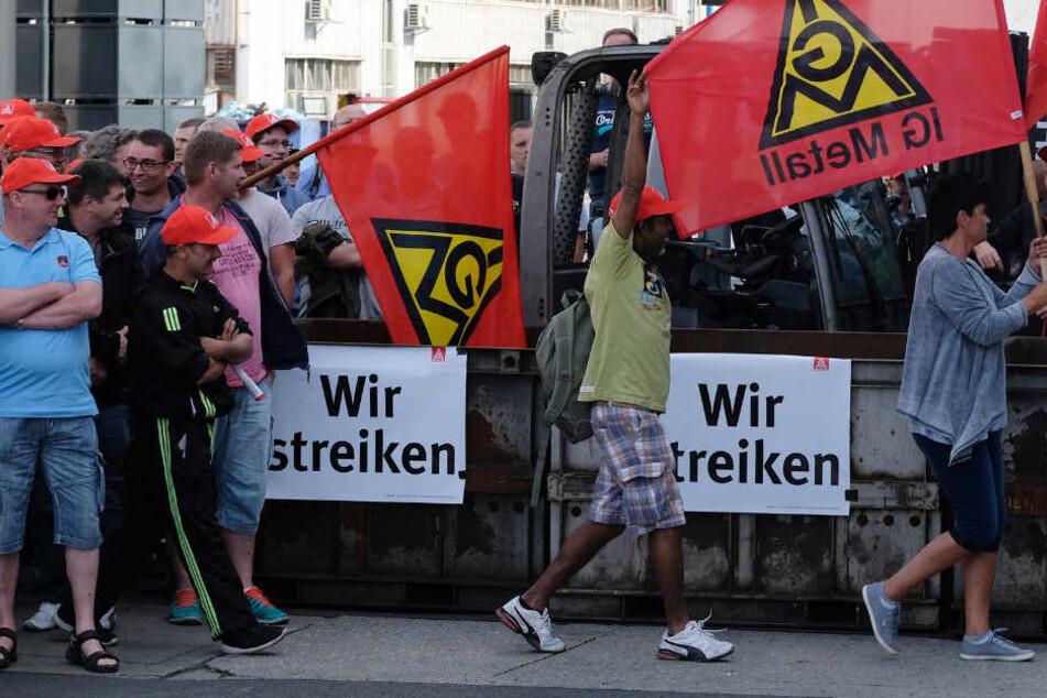 Halberg Guss streikt in Leipzig weiter, Saarbrückener Kollegen arbeiten wieder