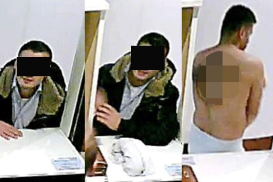 Mit diesen Fotos suchte die Polizei den Verdächtigen.