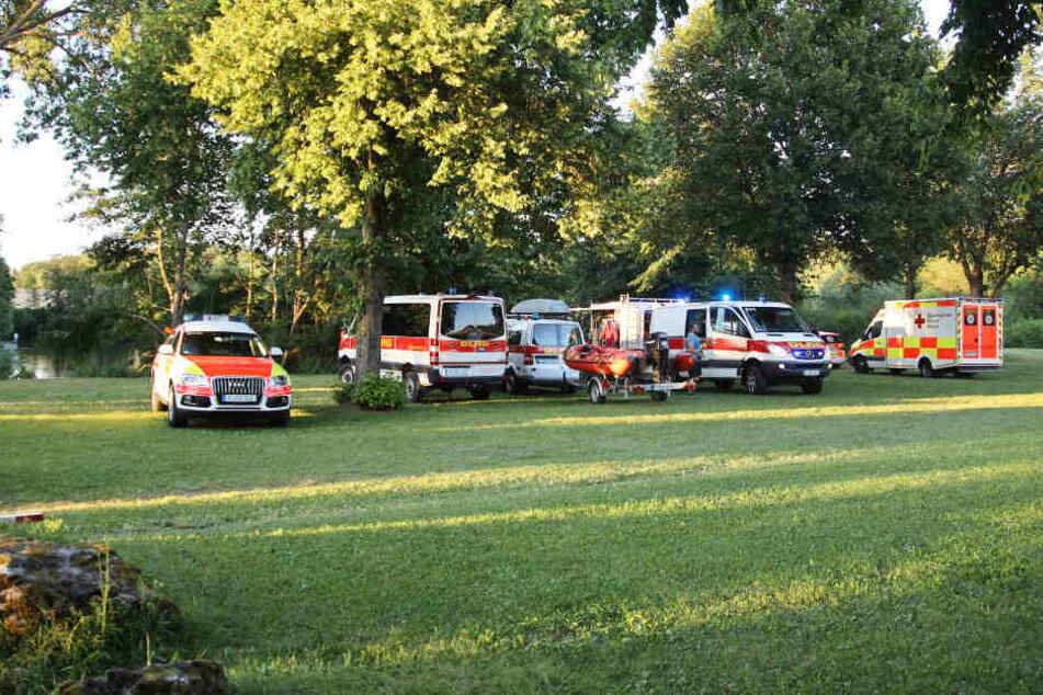 Die Rettungskräfte konnten einen Mann in Bayern nicht mehr retten.