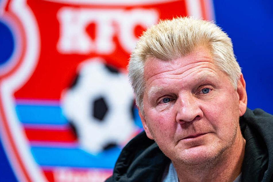 Stefan Effenberg soll und will wieder Ruhe und Kontinuität in den KFC Uerdingen bekommen.