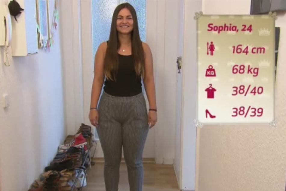 Sophia eröffnete die Shoppingtour in Dresden.