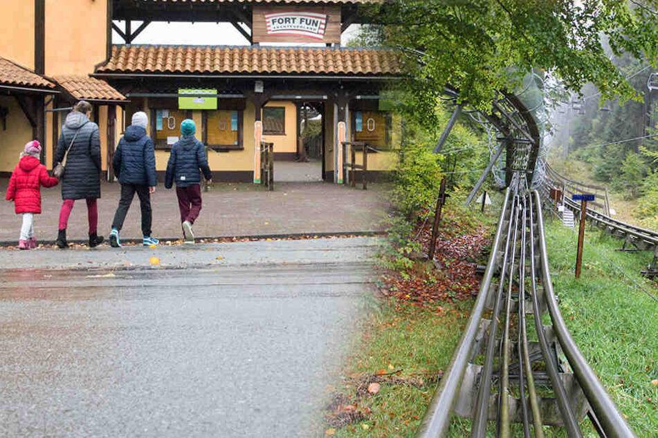 """Die Sommerrodelbahn im Freizeitpark """"Fort Fun"""" wird ab dem Wochenende wieder geöffnet sein."""