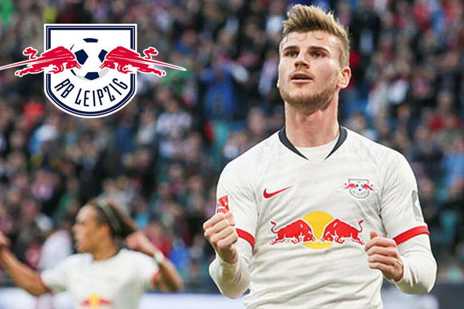RB Leipzig: Timo Werner, das strahlende Gesicht eines magischen Tages