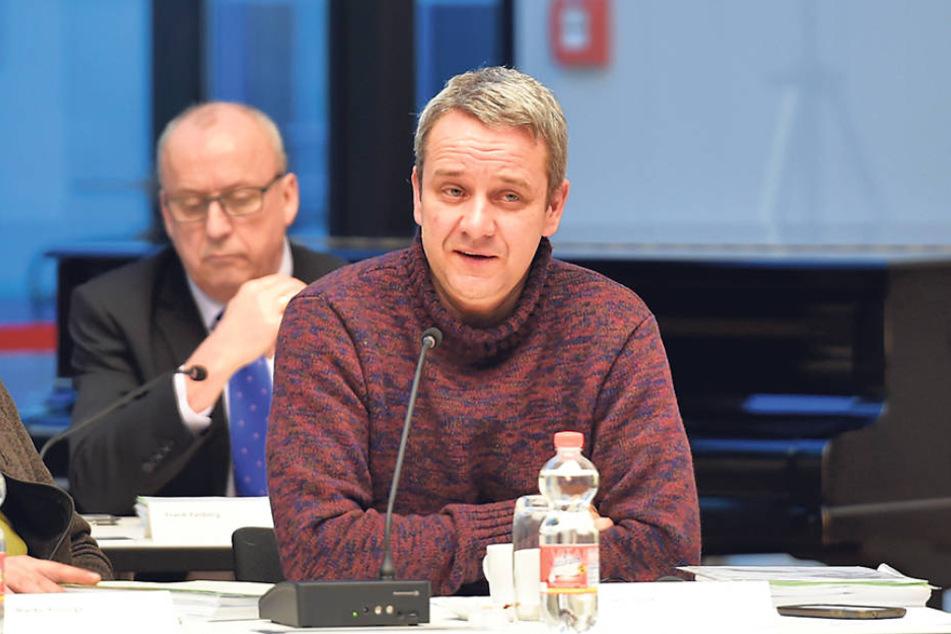 Hat überraschend das Handtuch geworfen: Sven Itzek (46) ist nicht mehr Chef  des AfD-Kreisverbandes.