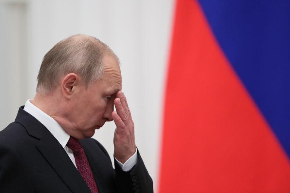 Das Gerichtsurteil lässt bei Russland Präsident Wladimir Putin keine Freude aufkommen.