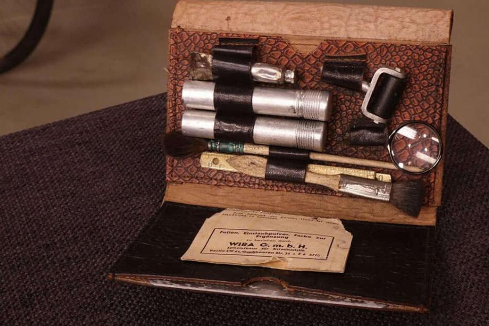 Das Daktyloskop, ein Fingerabruckset, war etwas Neues bei Bares für Rares.