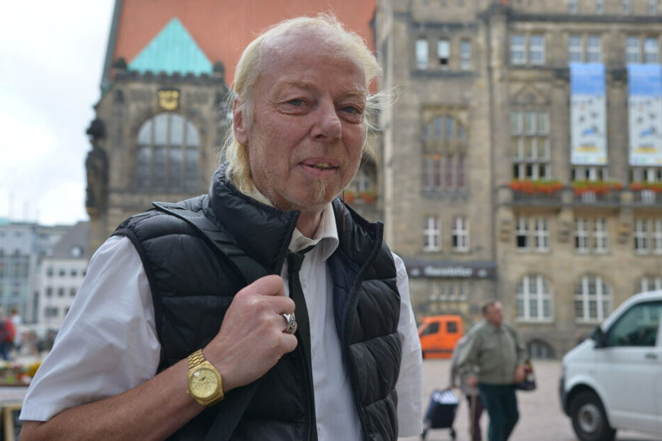 Jens-Uwe Jahn (57) alias DJ Geyer will 2020 neuer Oberbürgermeister von Chemnitz werden.