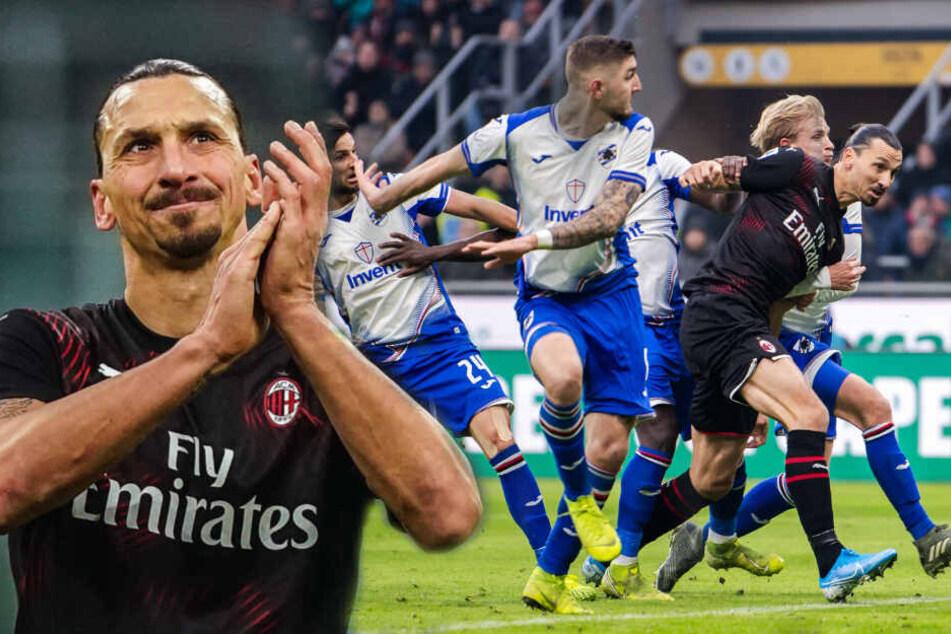 """Ibrahimovic zurück beim AC Mailand: So lief das Comeback von """"König Zlatan"""""""