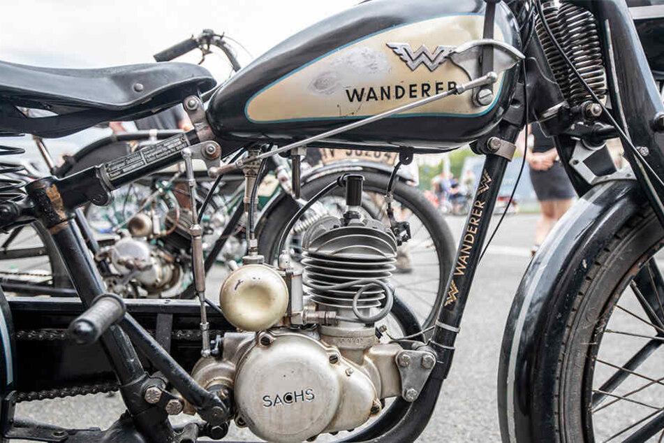 Allein der Hersteller Wanderer produzierte etwa 112.000 Motorfahrräder in Chemnitz.