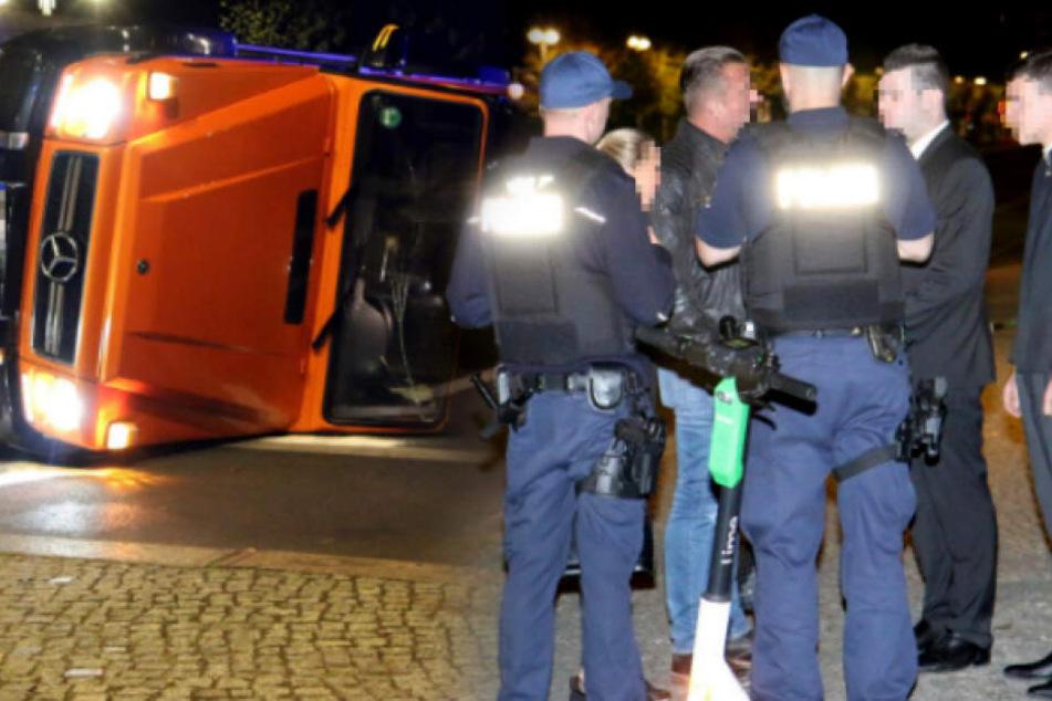 Unfall in Berlin: Adlon-Mitarbeiter auf Spritztour mit Luxus-Auto ihrer Gäste?