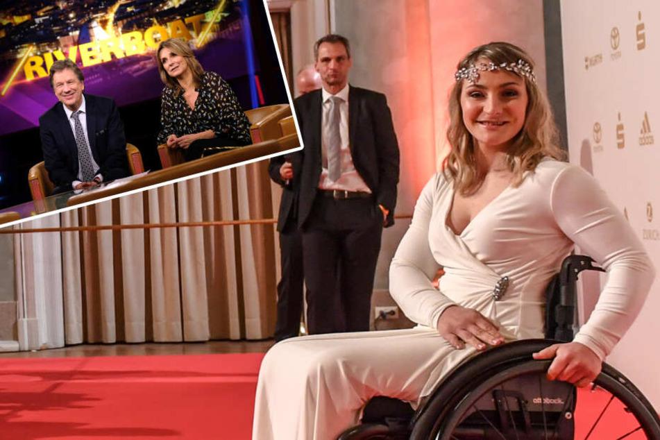 """Kristina Vogel im MDR-""""Riverboat"""": Wechselt sie nach ihrer Lähmung in die Politik?"""