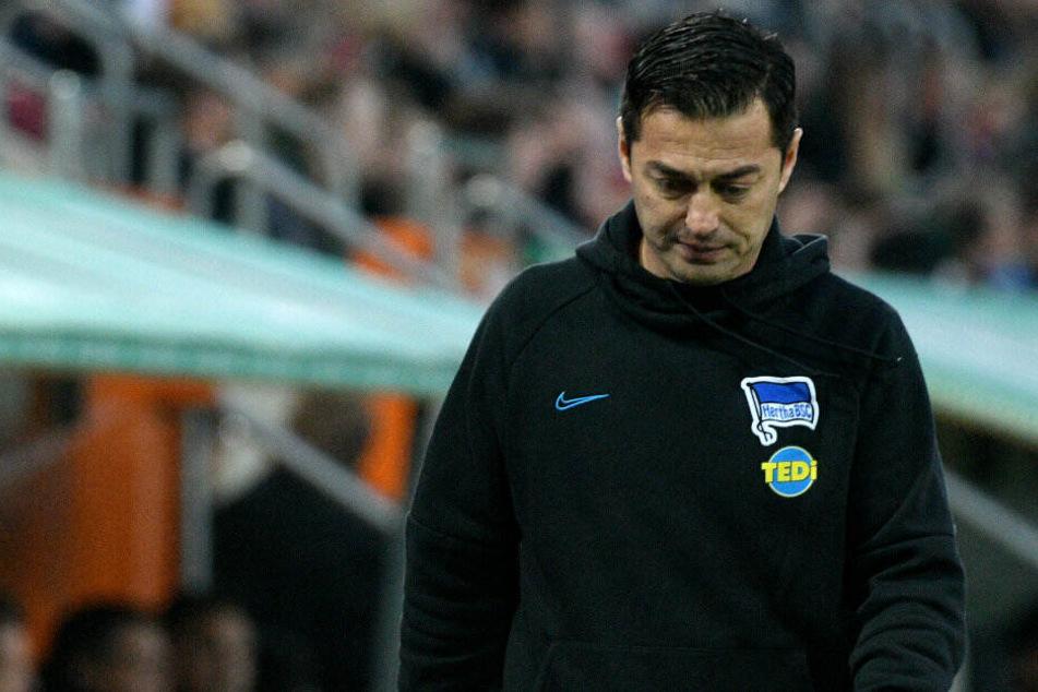 Ante Covic steht nach der vierten Niederlage in Folge mehr denn je unter Druck.