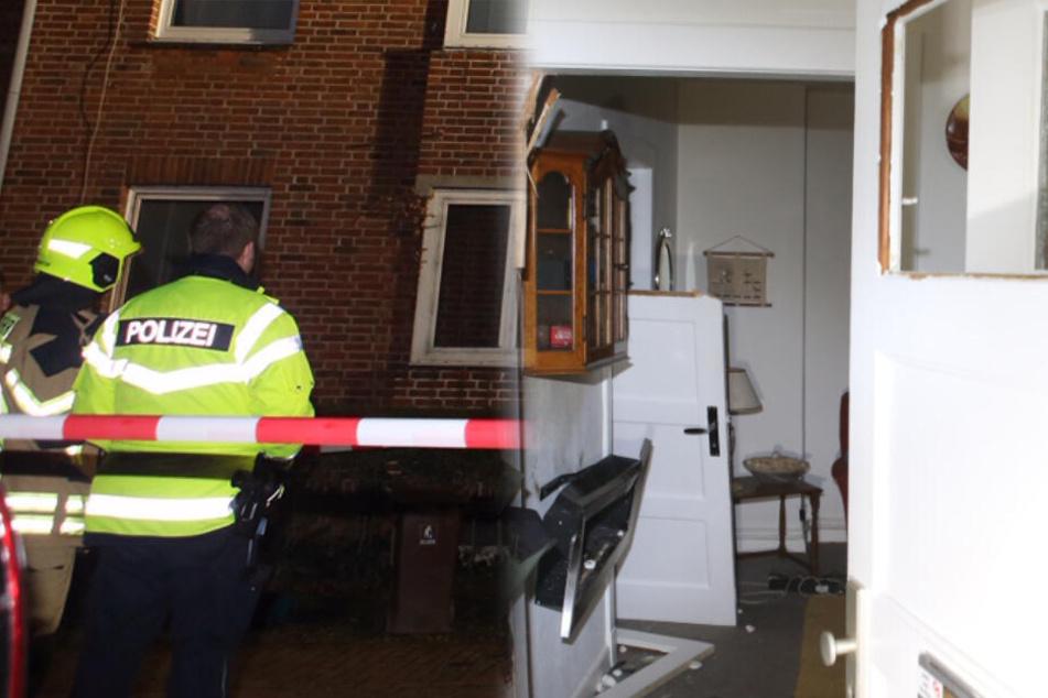 Gaskartusche auf Ofen abgestellt: Explosion zerstört Wohnungen