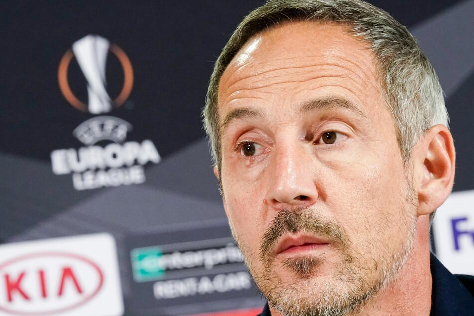 Eintracht-Frankfurt-Trainer Adi Hütter (50).