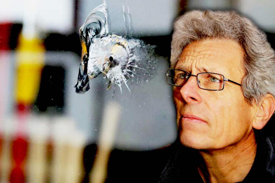 Vermutlich mit Luftgewehr: Vandale schießt Schaufenster-Scheiben ein!
