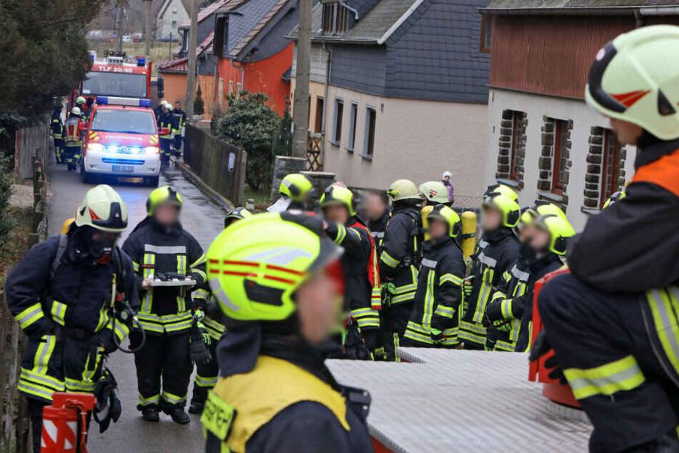 Die Feuerwehr musste am Samstagmorgen in den Haldenweg ausrücken.