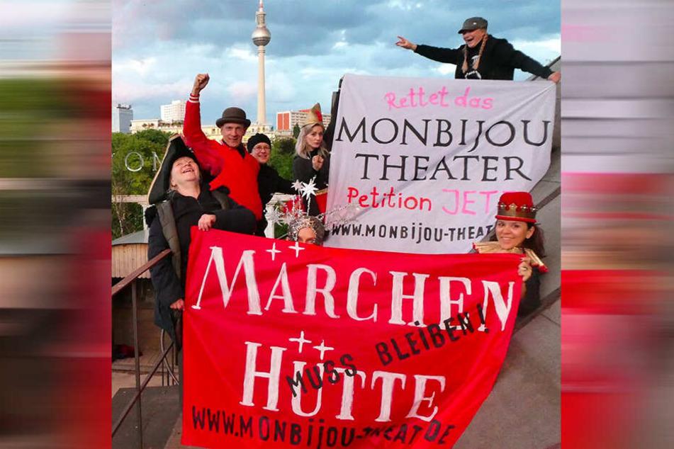 Es regt sich Widerstand, um Monbijou Theater und Märchenhütten zu retten.